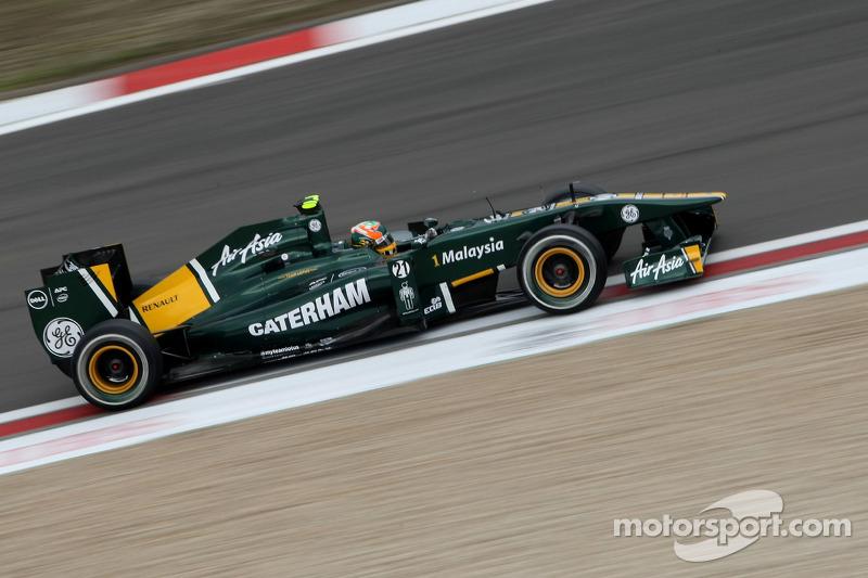 Team Lotus German GP - Nurburgring Friday Practice Report