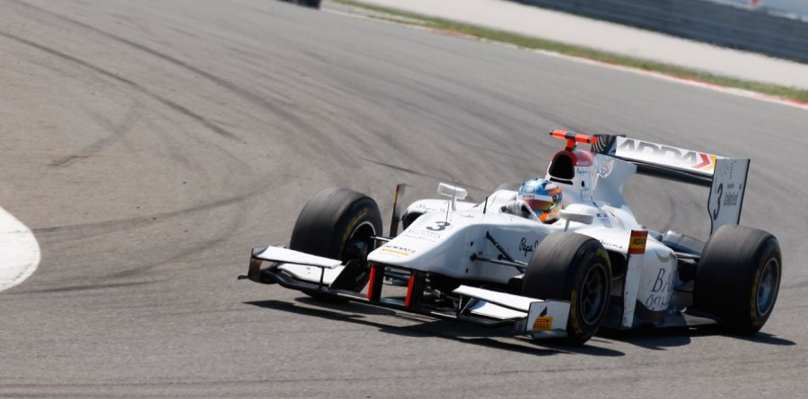 Pic Slams Down Hot Lap For GP2's Nurburgring Pole