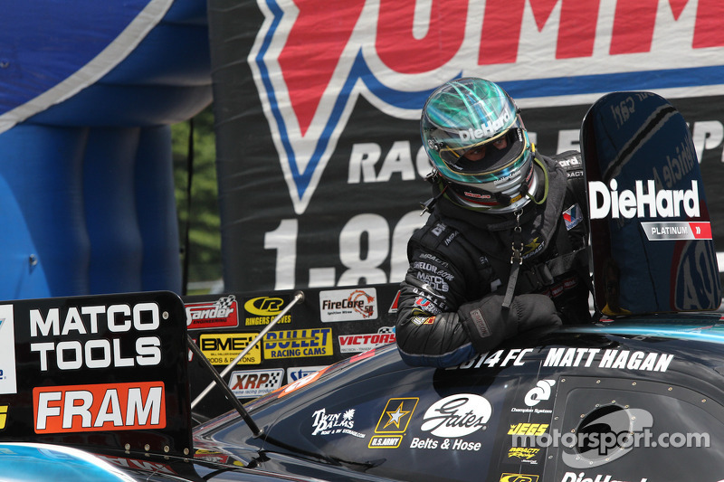 Matt Hagan Seattle Saturday Report