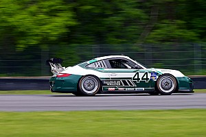 Grand-Am Magnus Racing prepared for the race at The Glen