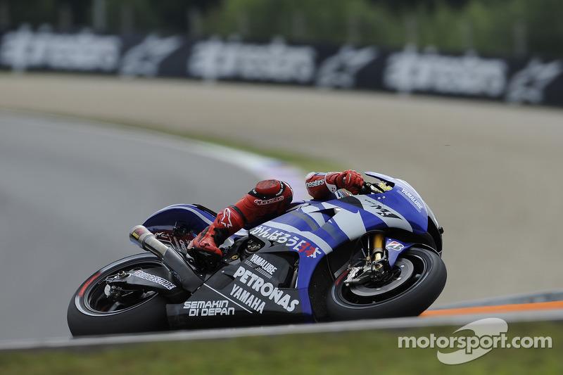Yamaha Czech GP qualifying report