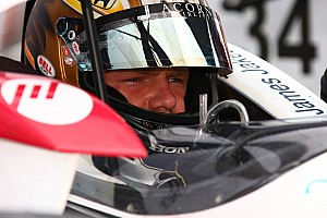IndyCar Dale Coyne Racing Loudon qualifying report