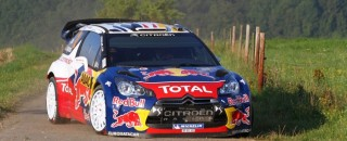 WRC Citroen pair own Rally Deutschland