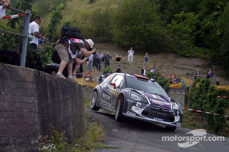 Van Merksteijn Motorsport Rally Deutschland leg 1 summary