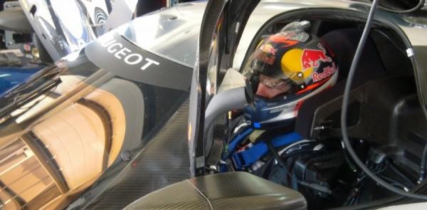 Kimi Räikkönen enjoyed his test in the Peugeot 908