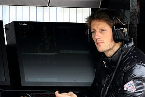 Formula 1 Grosjean says 'we'll see' to Renault rumours