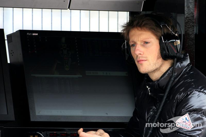 Grosjean says 'we'll see' to Renault rumours