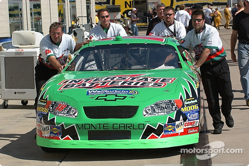 Joe Gibbs Racing history with Interstate, part 12