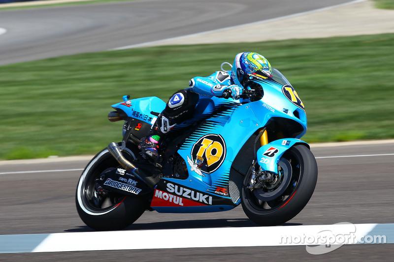 Suzuki San Marino GP Friday report