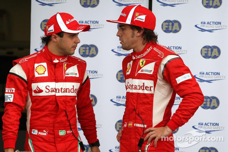 Massa 'one of best ever teammates' - Alonso