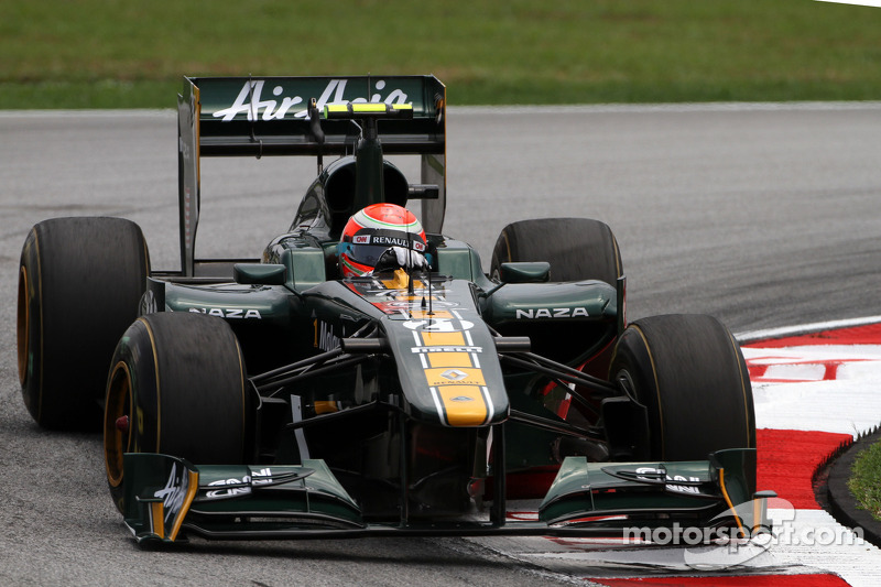 Trulli says 2012 Team Lotus stay 'settled'