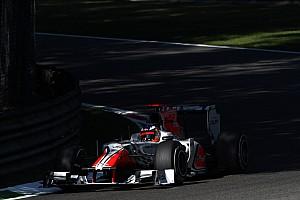 Formula 1 HRT Italian GP - Monza Friday practice report