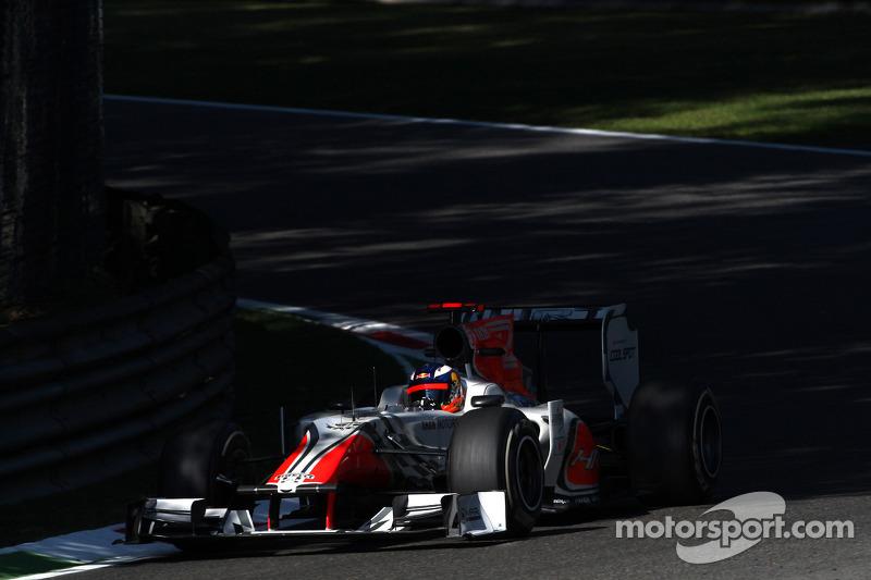 HRT Italian GP - Monza Friday practice report