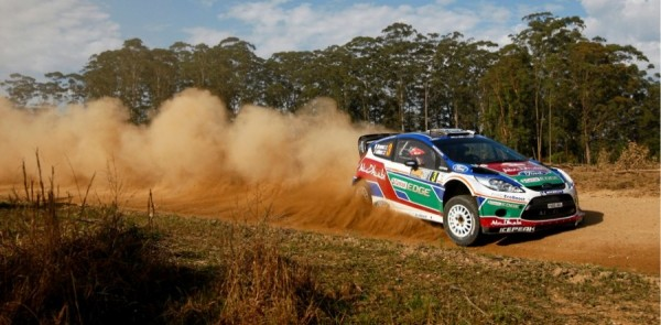 Ford drivers run off with Rally Australia lead