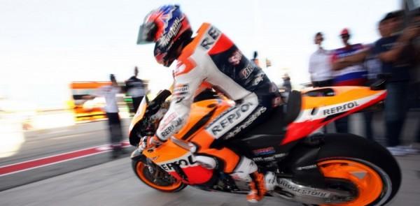 Stoner takes Aragon GP pole in Spain