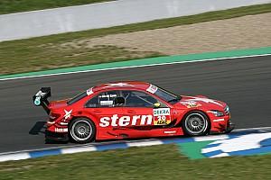 DTM Van der Zande 13th after splitter issue