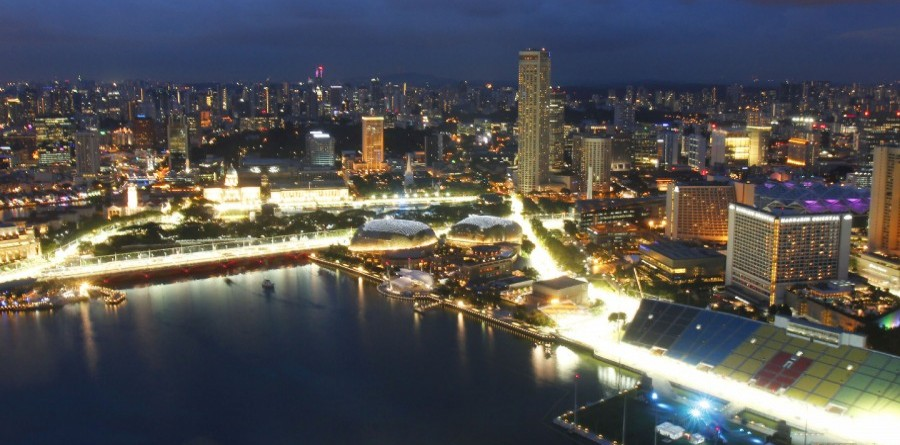 The heat is on for the Singapore Grand Prix