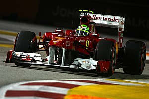 Formula 1 Ferrari Singapore GP qualifying report