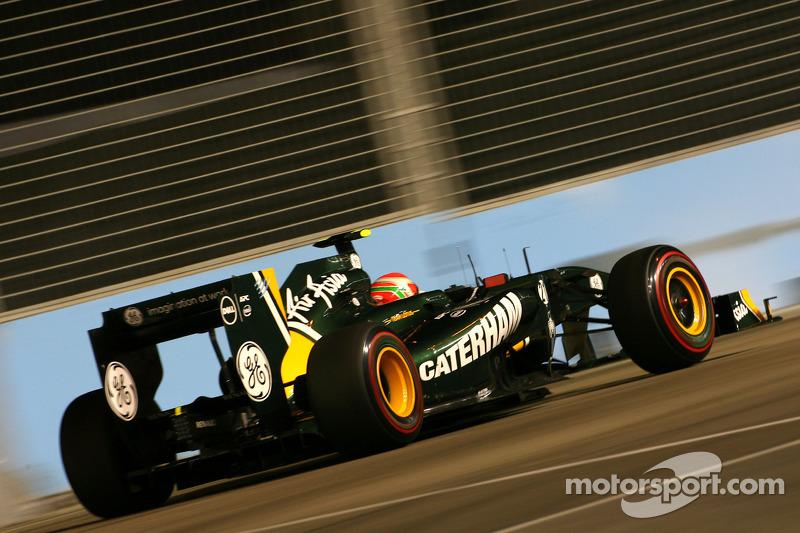 Team Lotus Singapore GP race report