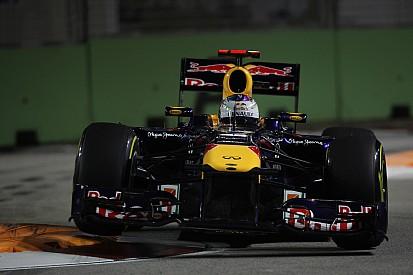 Vettel again unstoppable during Singapore Grand Prix