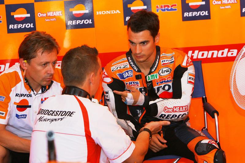 Pedrosa leads Honda charge in practice at Motegi