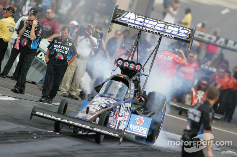 Antron Brown Maple Grove Saturday report