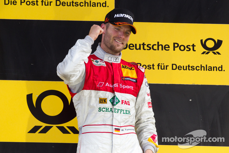 Ekstrom wins but Tomczyk takes the 2011 DTM title in Valencia