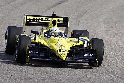 Sarah Fisher Racing's Ed Carpenter claims Kentucky victory