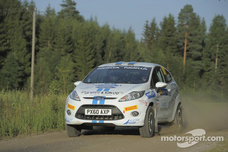 WRC Academy Rally de France event summary