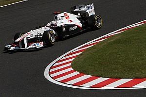 Formula 1 Sauber Japanese GP - Suzuka race report