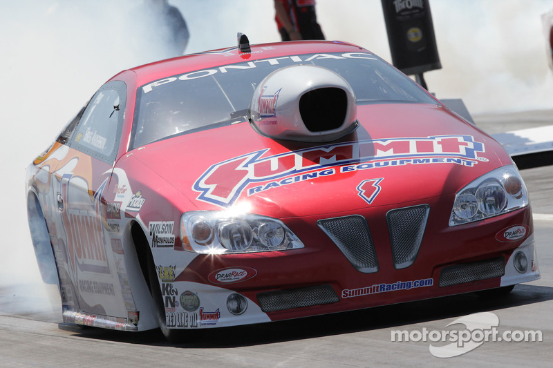 Greg Anderson looks to be tough at Firebird Raceway