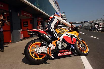 Series Australian GP Saturday practice report