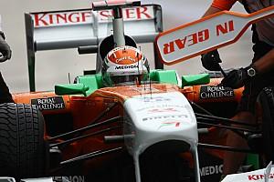 Formula 1 Force India Korean GP - Yeongam qualifying report