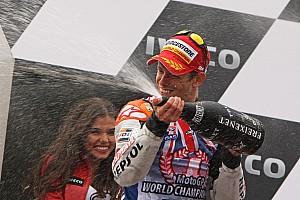 MotoGP Stoner seals championship glory at Australian GP