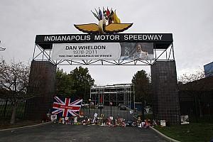 IndyCar Indianapolis Dan Wheldon memorial schedule