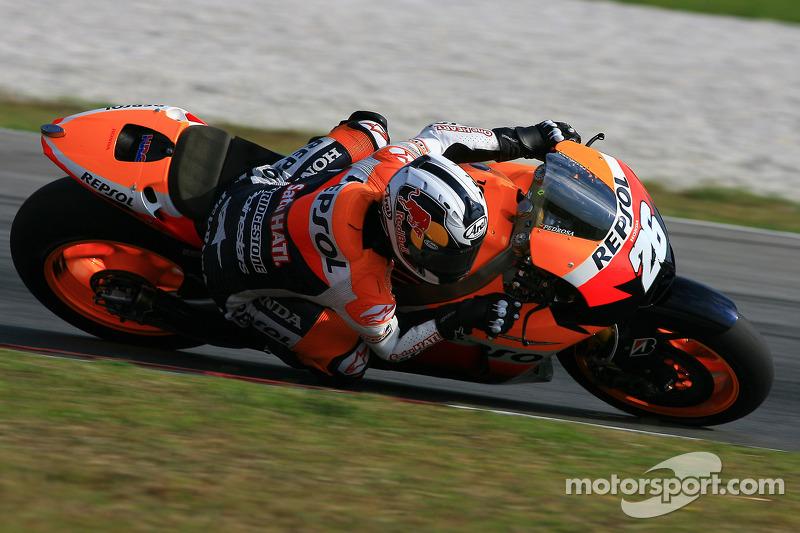 Series Malaysian GP final practice report