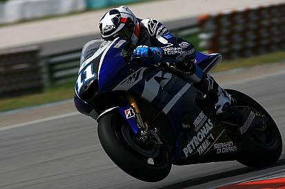 Yamaha Malaysian GP qualifying report