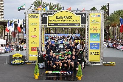 Support classes Rally de España final leg summary