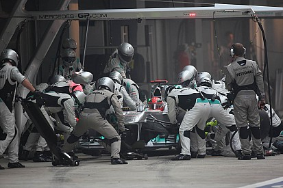 Mercedes Indian GP race report
