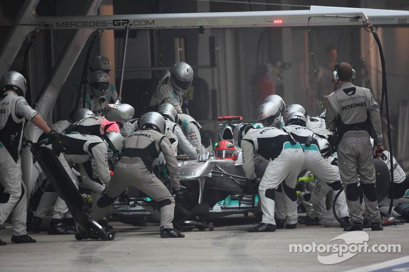 Mercedes Indian GP race report
