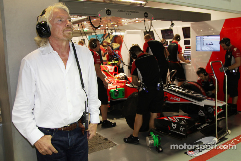 Virgin staying with team after 2012 name change