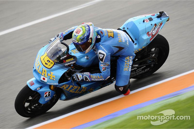 Suzuki Valencia GP Friday report