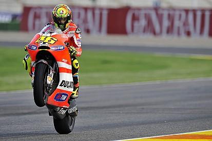 Ducati Valencia GP Friday report