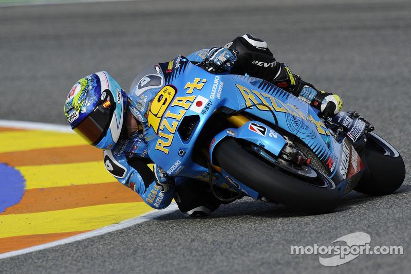 Suzuki Valencia GP qualifying report