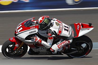 Yamaha pleased with Valencia GP qualifying