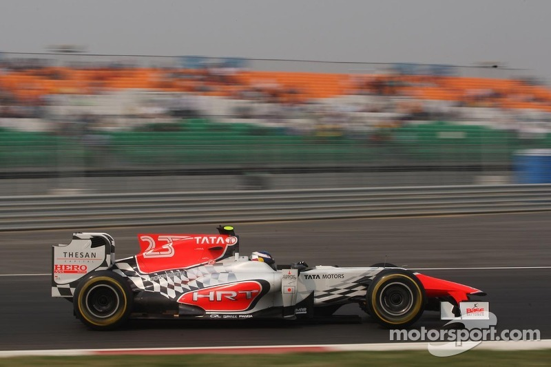 HRT's Liuzzi back in the seat for Abu Dhabi GP