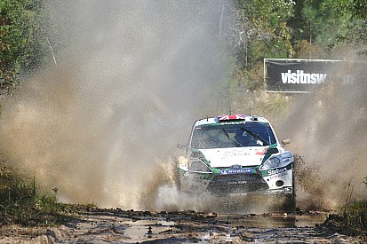 Ricard Parks experinces rally from the hot seat