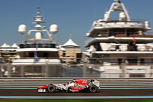 Formula 1 HRT Abu Dhabi GP Friday practice report