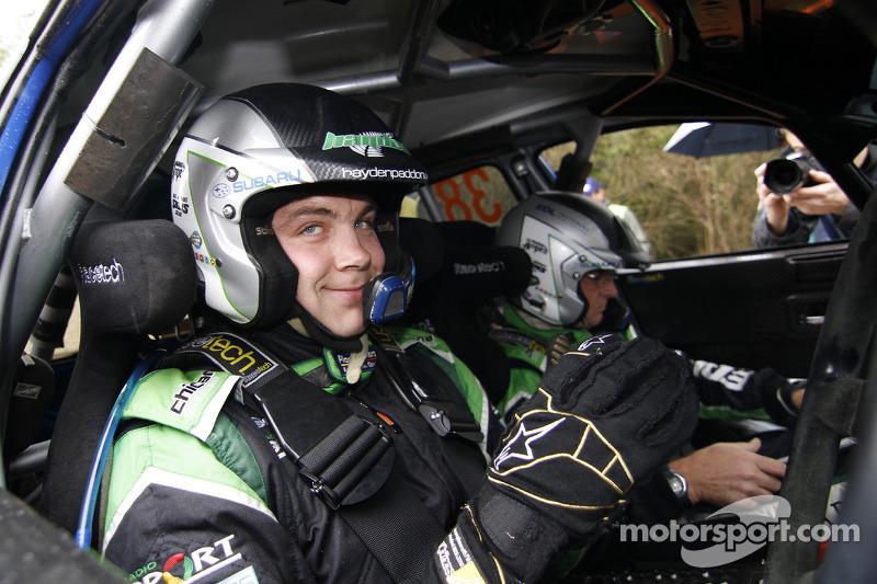 Hayden Paddon Wales Rally GB leg 2 summary