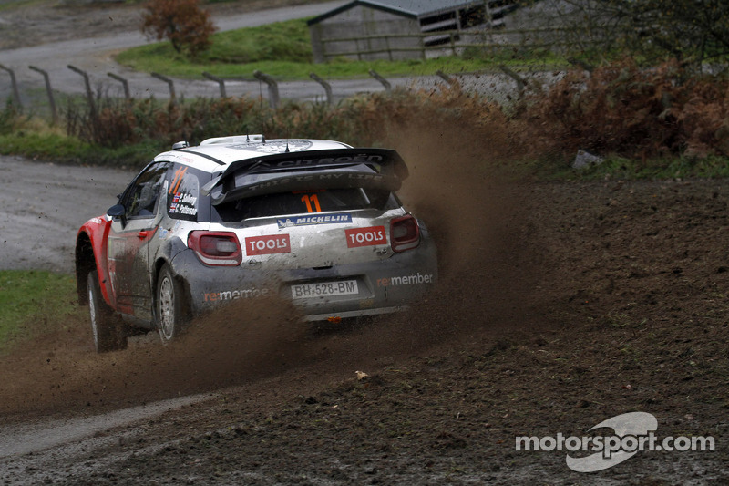 Petter Solberg WRT Wales Rally GB leg 3 summary